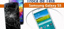 Troca de Tela Samsung Galaxy S5 RJ