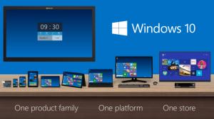 Microsoft anuncia o Windows 10 e com a volta do botão iniciar