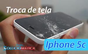 Troca de tela iphone 5c
