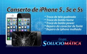 Conserto de iPhone 5 , 5c e 5s