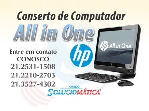 Conserto de computador All in One