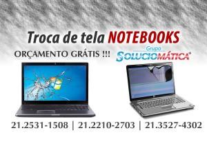 Troca tela notebook