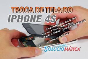 Troca de Tela iPhone 4S no RJ