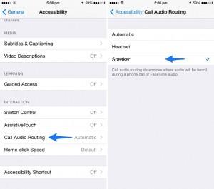 Como receber chamadas diretamente no modo viva-voz no iPhone