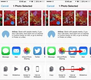 Reorganizar ou ocultar compartilhar ícones do menu no iOS para compartilhamento mais rápido