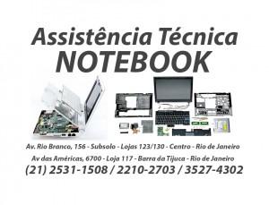 Assistência técnica de Notebook