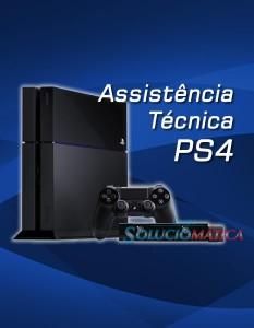 PS4 Com defeito? Conserto – Assistência Técnica