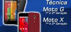 Assistência Técnica Motorola Moto G e Moto X Rio de Janeiro