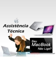 MacBook Não Liga? Assistência Técnica MacBook