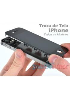 Onde trocar tela de iPhone
