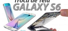 Troca de tela do Galaxy S6