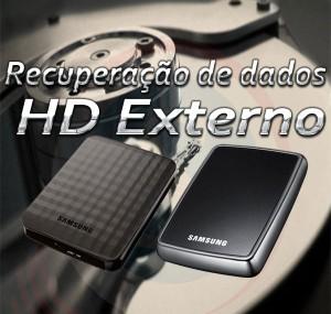 Recuperação de dados de hd externo