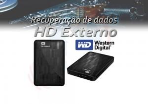 Recuperação de dados de HD externo WD Western Digital
