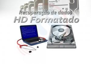 Recuperar dados hd externo formatado