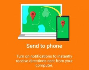 Como enviar direções Google Maps do desktop ao iPhone
