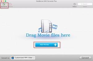 Converta arquivos M4V iTunes e remova o DRM com NoteBurner M4V Converter Plus