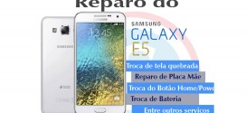 Troca da tela quebrada do Samsung Galaxy E5