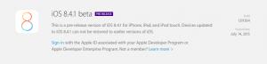 Apple lança versões beta do OS X e iOS 8.4.1 10.10.5 para desenvolvedores
