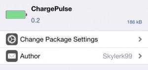 ChargePulse adiciona uma animação para o indicador de bateria de iPhone
