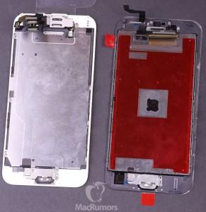 Painel de Visualização  do iPhone 6s,com Mistério sobre Chip é ligeiramente mais pesado e mais grosso do que o iPhone 6 Versão