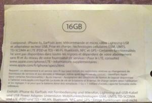 iPhone 6S: Vazamento da Nova embalagem sugere modelo base com 16 GB