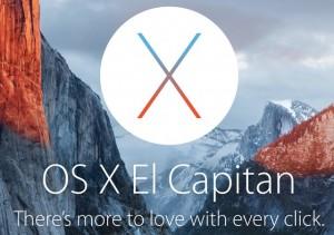 Primeira versão beta pública para OS X 10.11.1 El Capitan liberado, faça o download agora