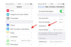 Personalize o seu e-mail com uma assinatura personalizada no iPhone ou iPad