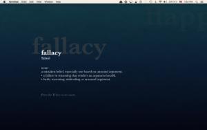 Terminal Tuesday: Transforme seu screensaver em um papel de parede dinâmico no OS X