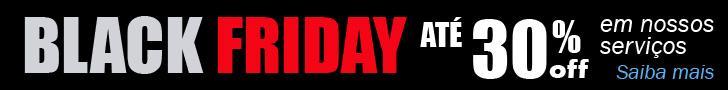 Black Friday Soluciomática - Até 30% off em nossos serviços