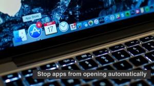 Como parar determinadas aplicações ao abrir automaticamente na inicialização do Mac
