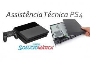 Assistência técnica ps4