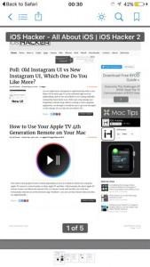 Como salvar qualquer página da web como um PDF no iOS