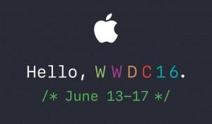 A Apple convida imprensa para WWDC 2016 Keynote Programado para 13 de junho