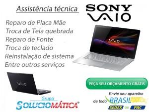 Assistência Técnica Sony Vaio