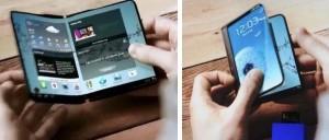 Rumores da Samsung sobre Lançamento de Smartphones totalmente dobrável em 2017