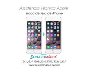 Trocar tela do IPhone no Rio de Janeiro