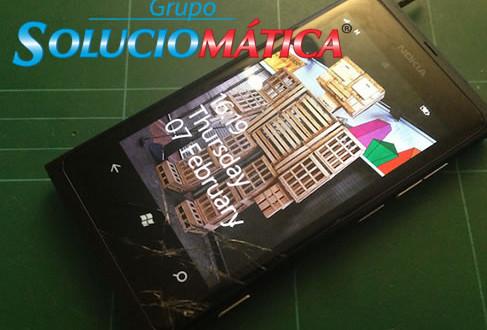 conserto do nokia lumia 800