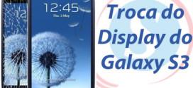 display quebrado galaxy s3