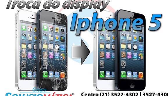 troca display iphone 5