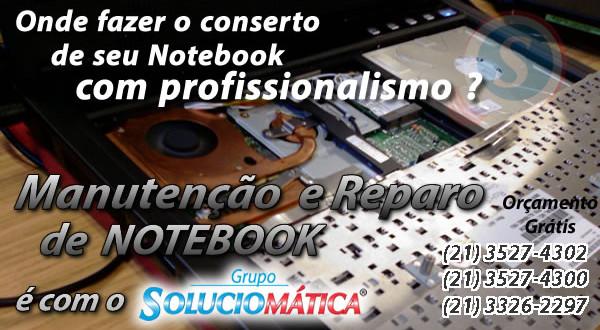 onde consertar notebook rio de janeiro