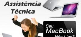 Assistência Técnica MacBook - MacBook não Liga