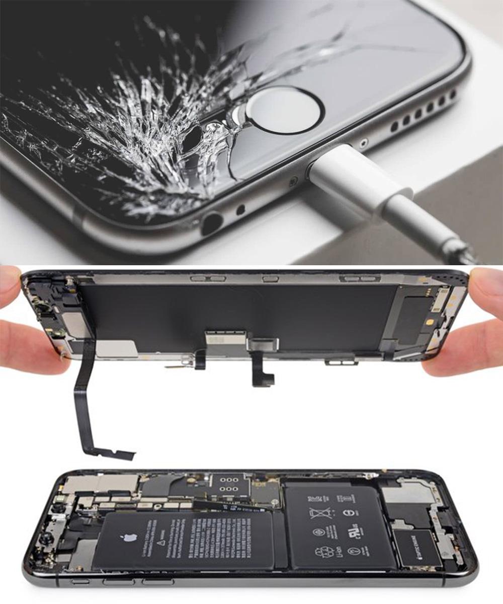 Troca de tela quebrada de iPhone no Rio de Janeiro