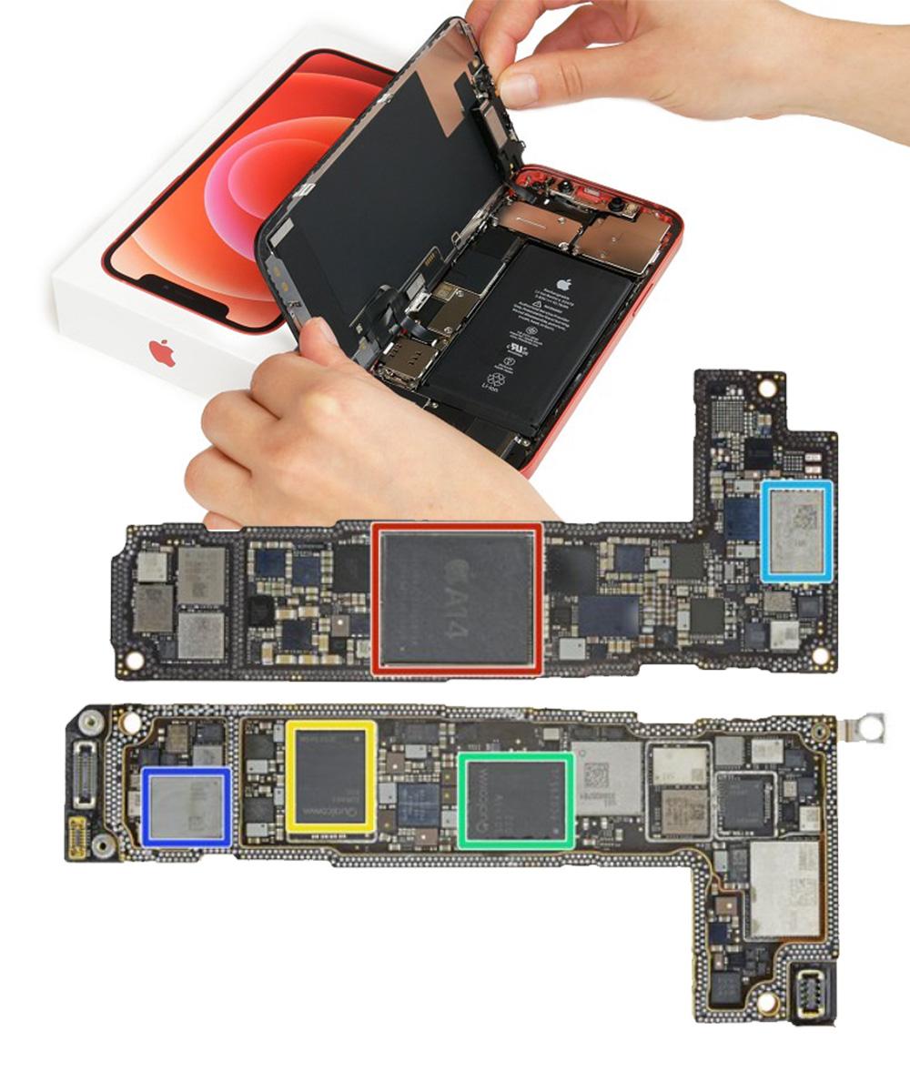 Reparo de placa de iPhone
