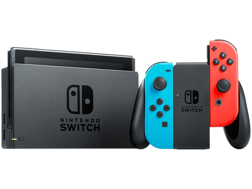 conserto de Nintendo switch